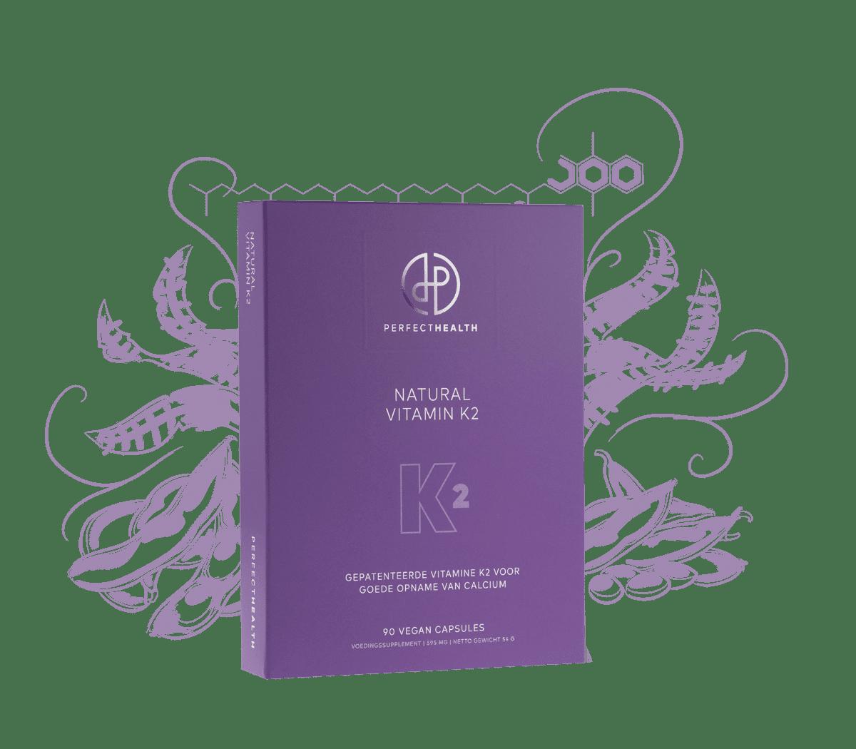 Natural Vitamin K2 - 180 stuks - voordeelverpakking - herhaalservice
